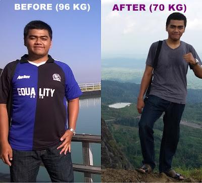 Pengalaman Aditya Menurunkan Berat Badan Hampir 100 Kg ke 70 Kg