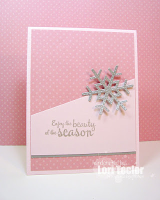 Enjoy the Beauty of the Season card-designed by Lori Tecler/Inking Aloud-stamps and dies from Lil' Inker Designs