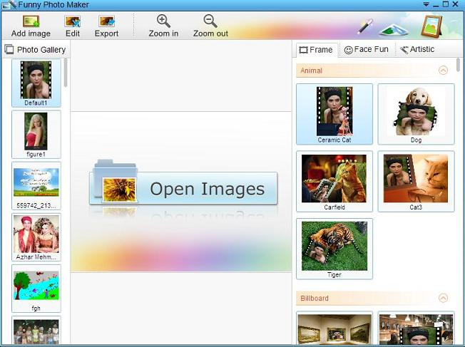 Digital photo effects software free download.
