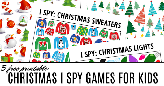 5 Days of Christmas I Spy Games