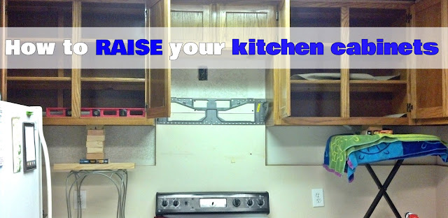 http://fixlovely.blogspot.ca/2013/11/how-to-raise-your-kitchen-cabinets.html