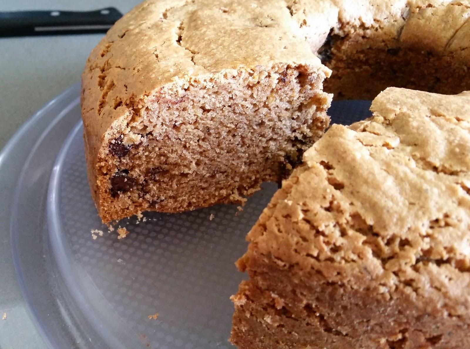 Νηστίσιμο Κέικ με Σταγόνες Σοκολάτας