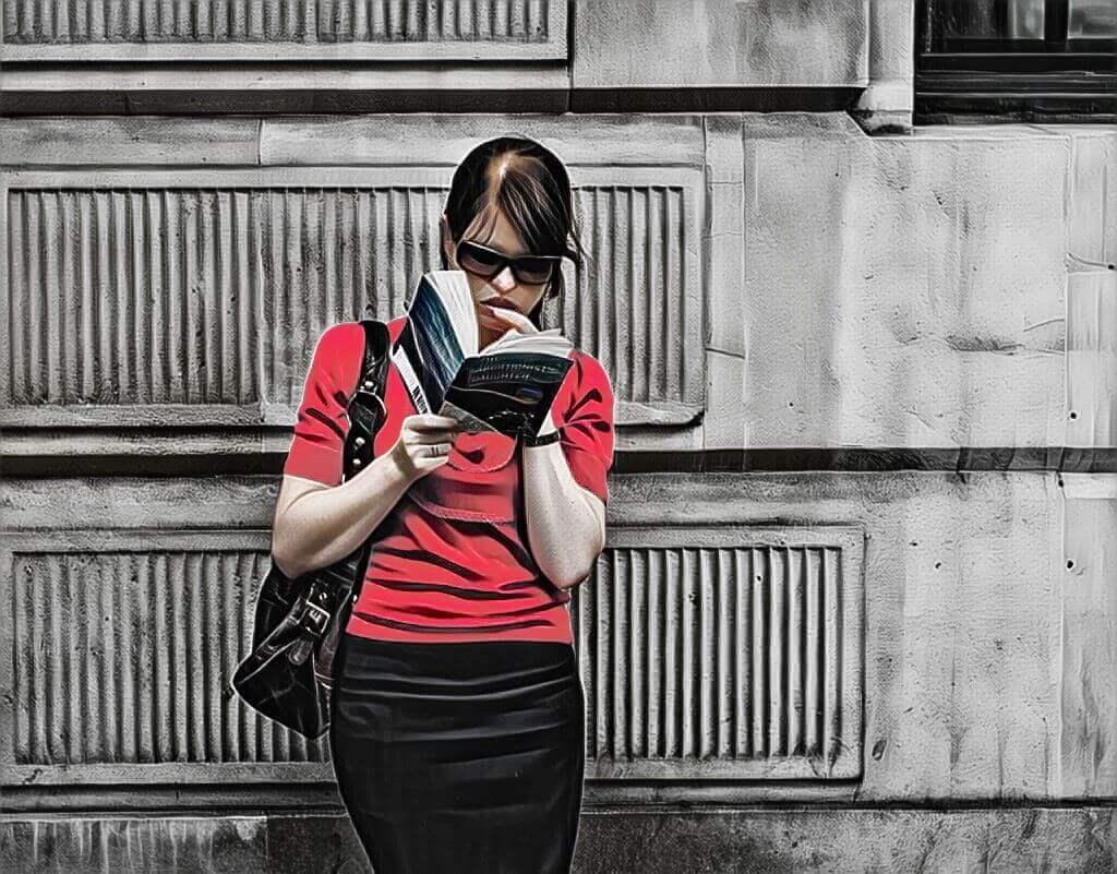 читач