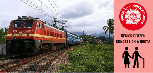india rail info, Indian Railways, Senior Citizen, Fare Concession, irctc,