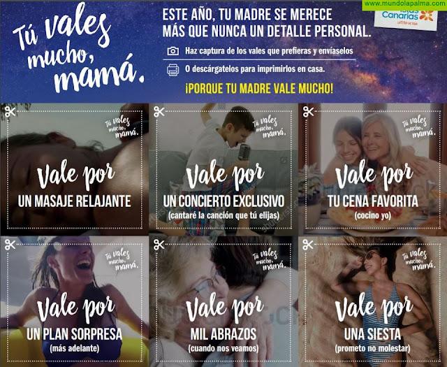 Turismo de Canarias aprovecha el Día de la Madre para mantener el contacto con los mercados emisores