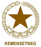 Logo Kemensetneg RI