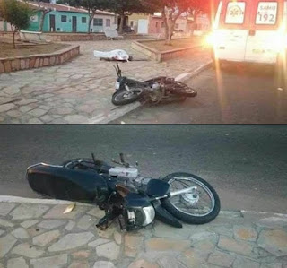 Homem casado com jovem da comunidade 'Mato Grosso', zona rural de Picuí morre no RN, em acidente de moto