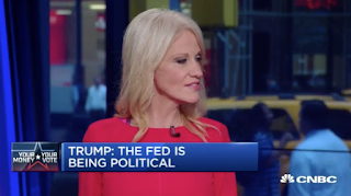 Kellyanne Conway, CEO Trade Barbs On Clinton, Trump In Heated Debate