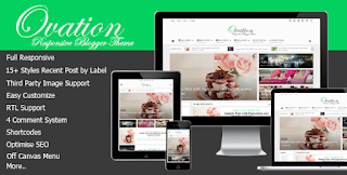 Ovation v1.0 – News/Magazine Responsive Blogger Theme