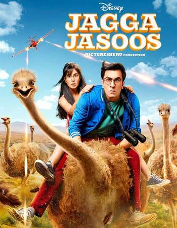 Jagga Jasoos 2017 Full Hindi Movie DVDRip Free Download
