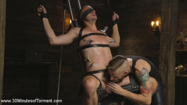 Hung stud Nate Grimes – The Pit – The Chair – The Gimp Room