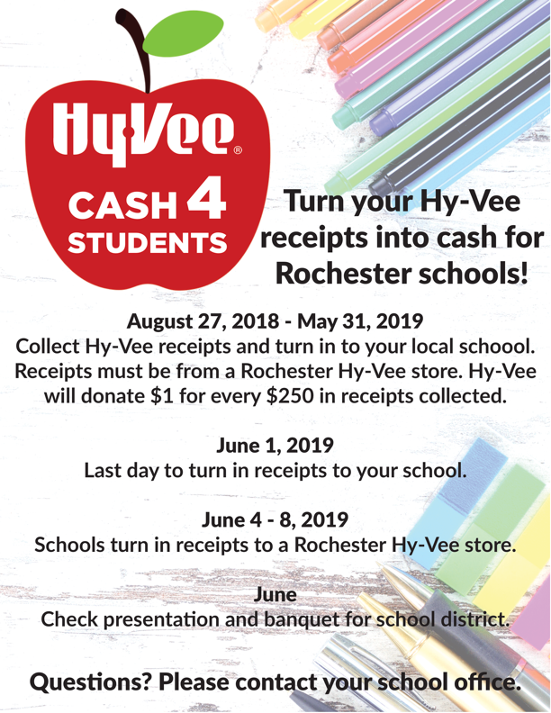Century Panther Press Online Newsletter: Turn in Your HyVee