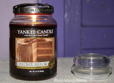 Yankee Candle - Chocolate Layer Cake - prawdziwy tort czekoladowy?