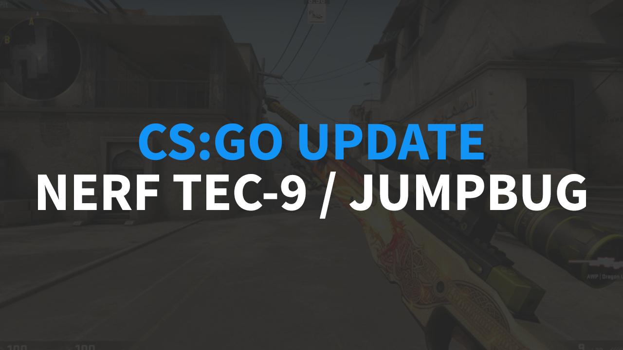 CS:GO Update - Nerf TEC-9 oraz usunięcie jumpbuga