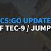 NERF TEC-9, usunięcie JUMPBUGA | Update CS:GO