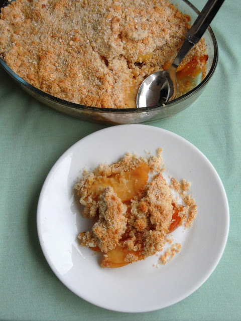 Peach Apple Crisp
