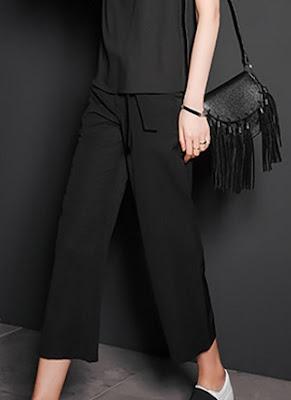 Model celana panjang modis wanita