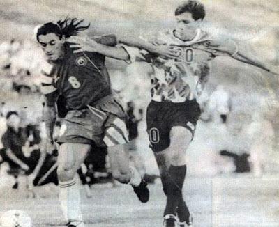 Estados Unidos y Chile en partido amistoso, 30 de abril de 1994