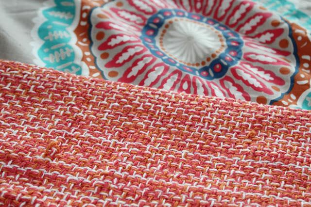 Aria Coral Bohemian Easy Care Reversible Duvet set