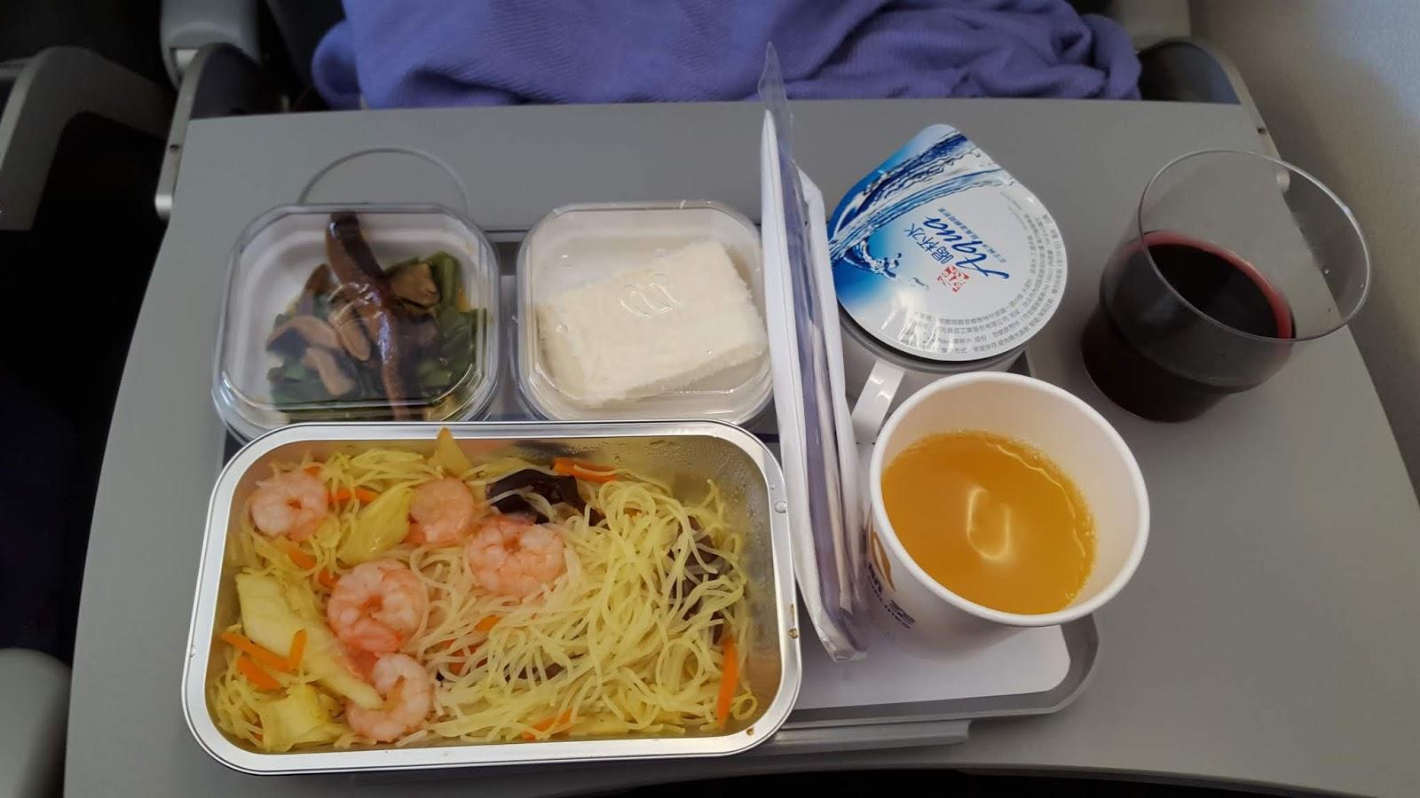 華信航空飛機餐
