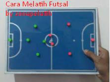 Cara melatih futsal sesuai dengan metode kepelatihan