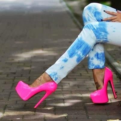 Sapatos de Saltos