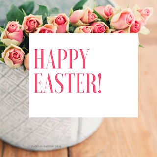 easter graphic, easter image, easter pink roses, floral easter picture