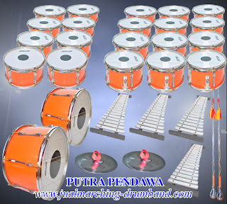 Paket drum Band TK 30 Alat