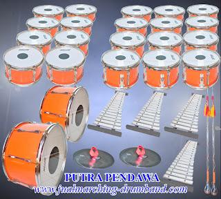 Paket drum Band TK 30 Alat