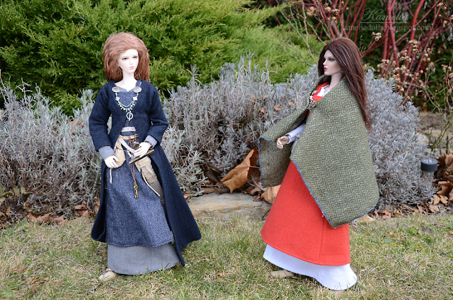 Viking outfits for 1/4 BJD dolls