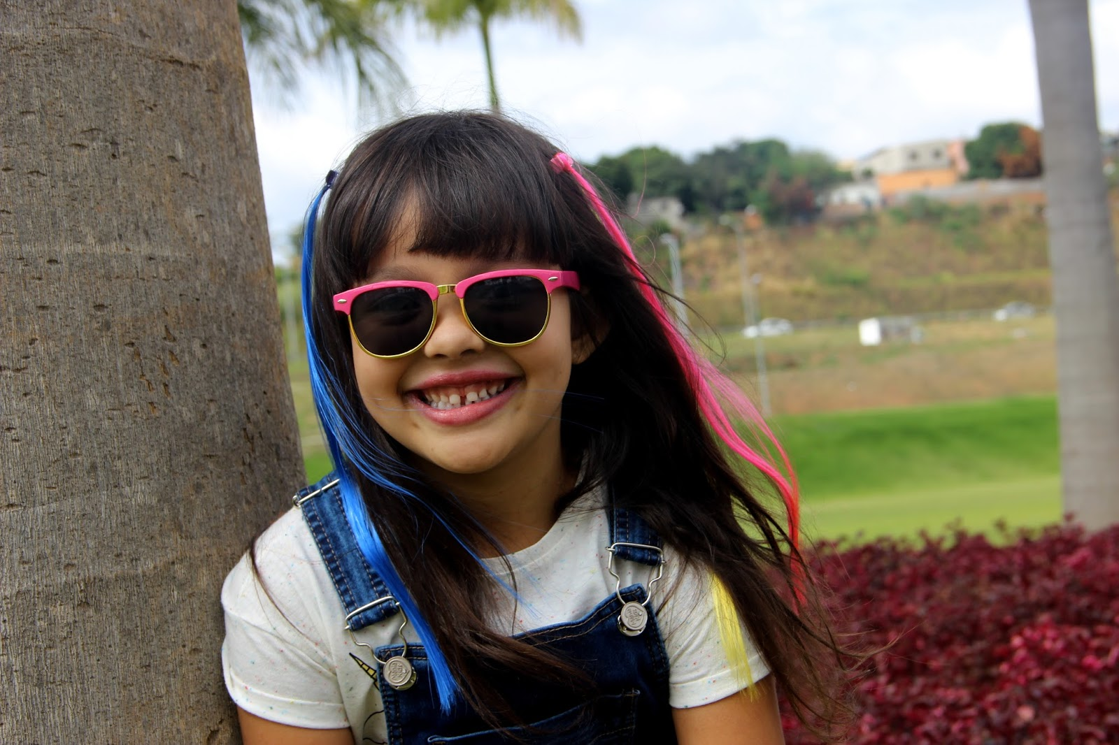 fada556c7 Blog da Lilian Brito  Look da Rafa  Jardineira Jeans Mania kids