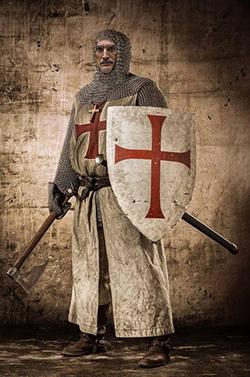 el villano arrinconado, humor, chistes, reir, satira, Tierra Santa, Cruzado, Templario