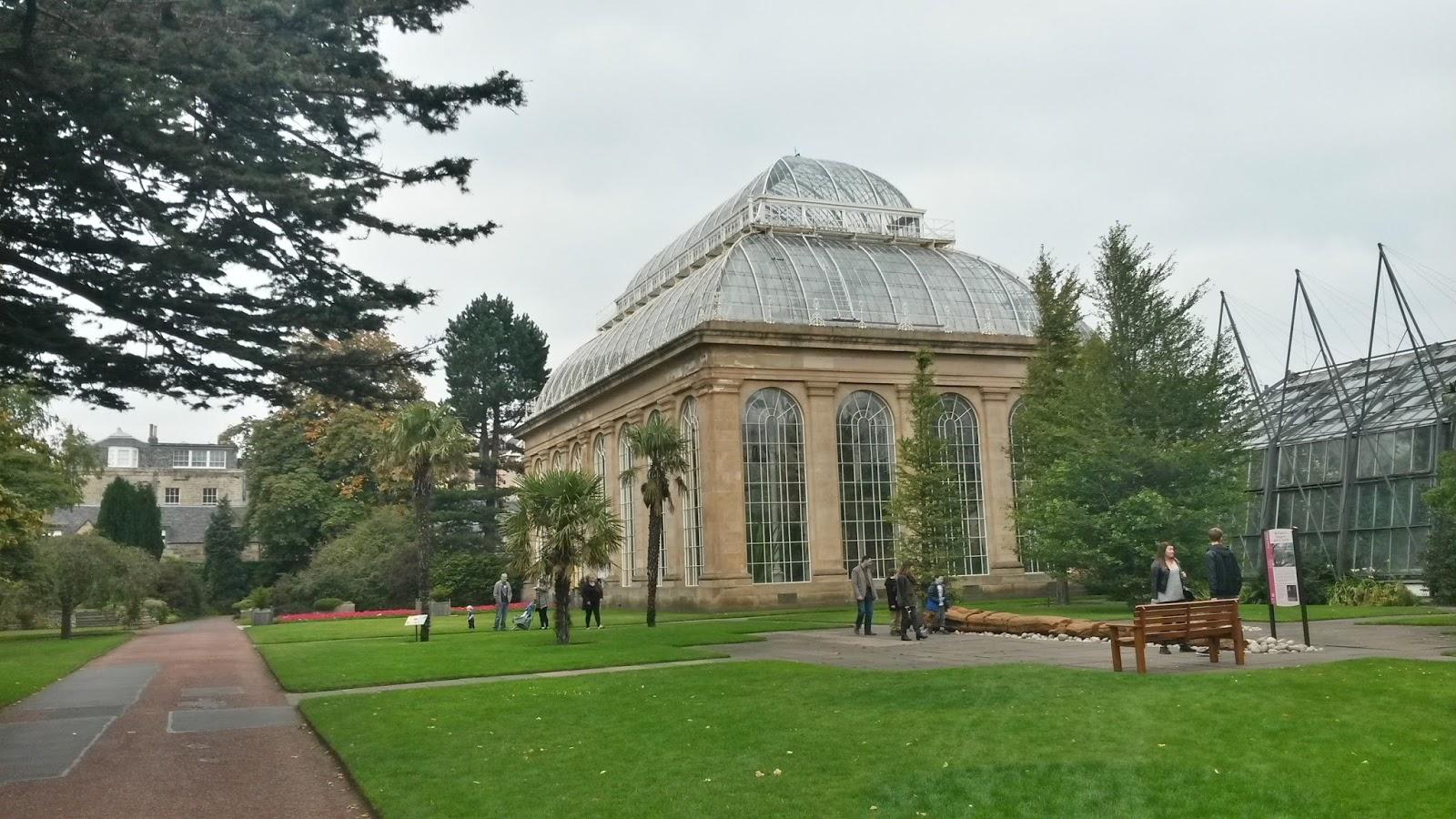 edinburgh scotland iskoçya botanic park britanya