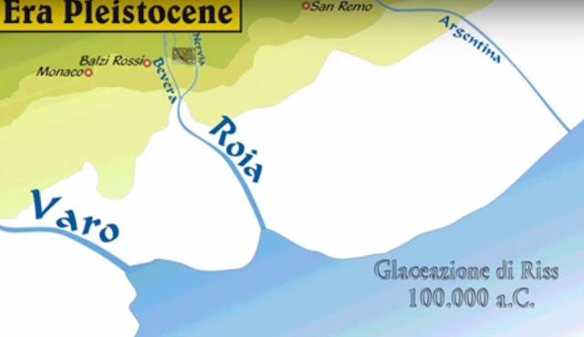 Ventimiglia, 100mila anni fa