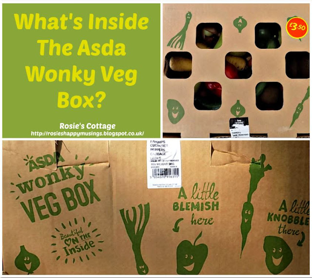 Whats Inside The Asda Wonky Veg Box