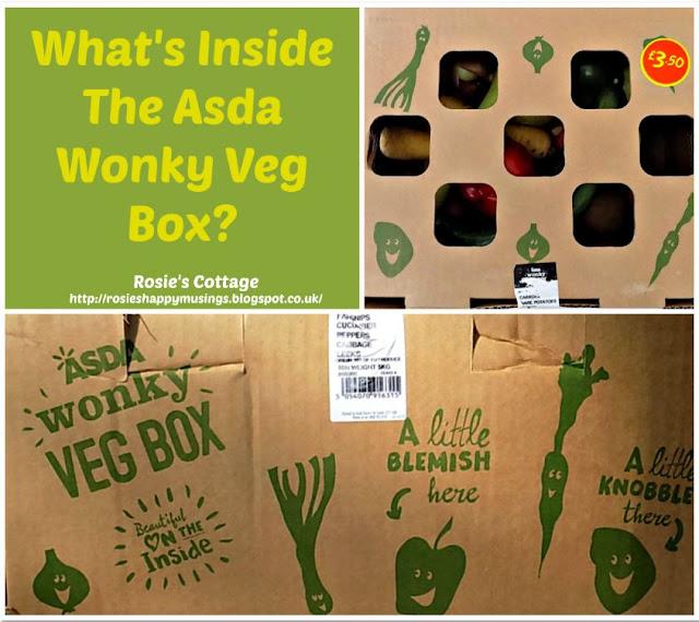 Whats Inside The Asda Wonky Veg Box