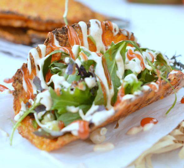 Healthy Carrot Taco Shells #recipe #healthy