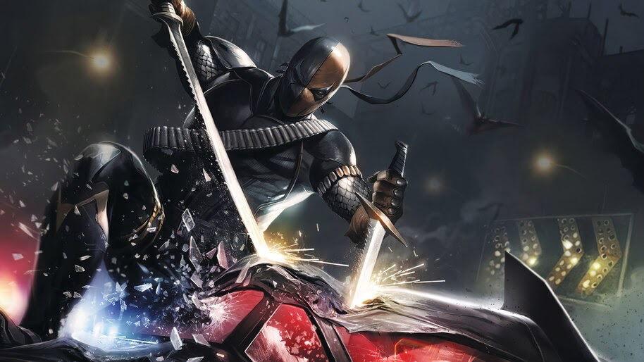 Deathstroke, Sword, DC, Supervillain, 4K, #6.1318