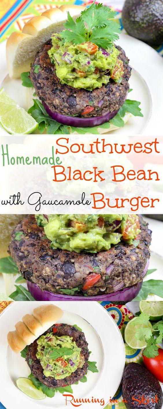 Southwest Black Bean Burgers