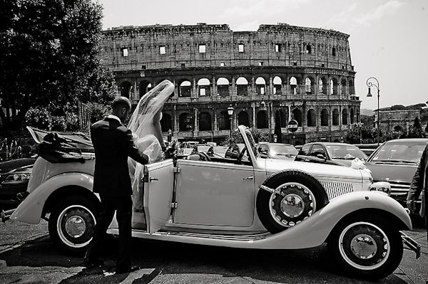 Vintage cars are a great way to travel around Italy in style
