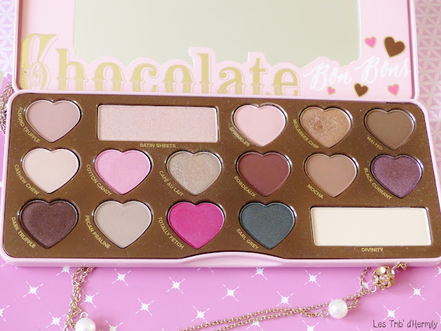 Palette Too Faced Chocolate Bon Bons