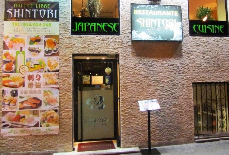 restaurante Shintori