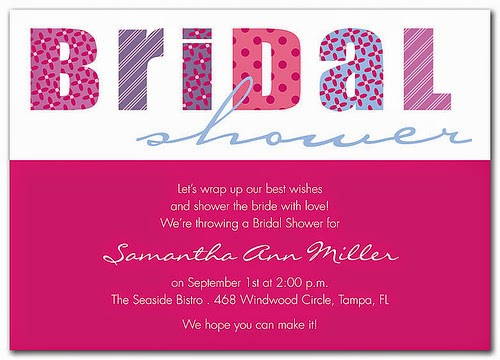 The Importance of a Wedding Shower Invitation