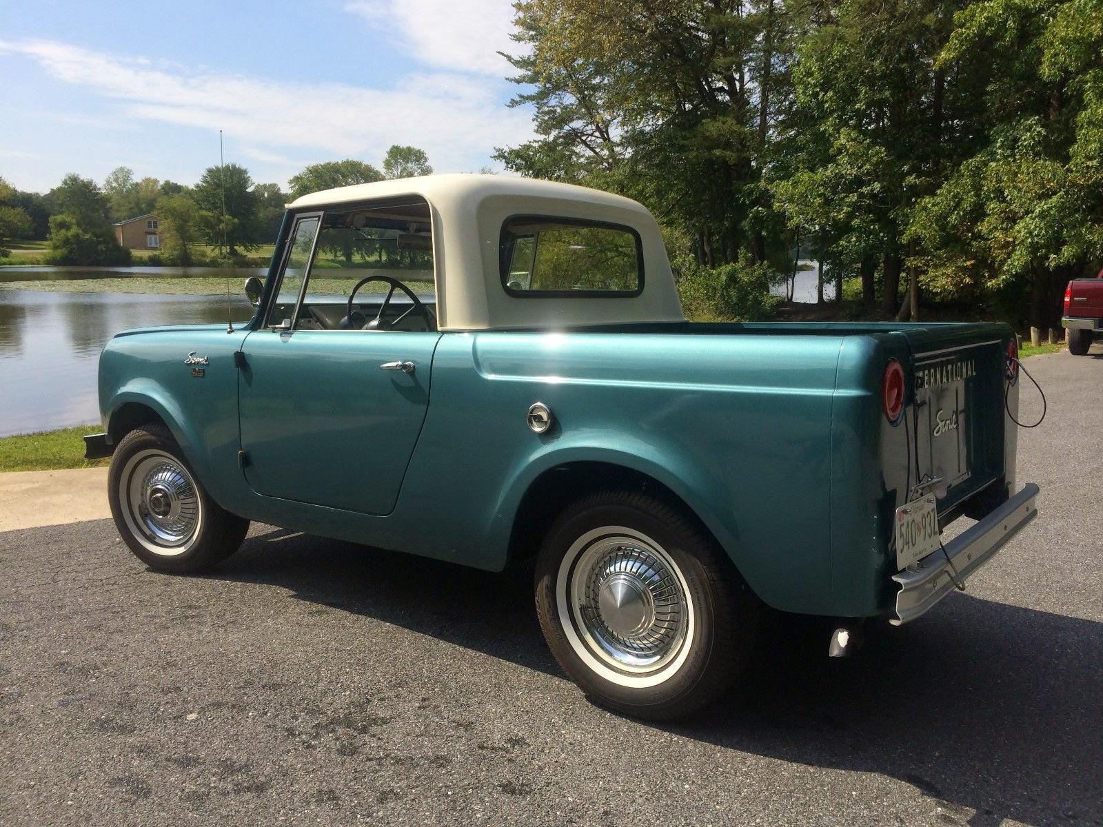 1965 International Scout 80 4x4 Pickup Truck | Auto