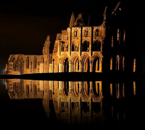http://www.panoramio.com/photo/34466597, Whitby Abbey in North Yorkshire England by AndrzejSmolinski as seen on linenandlavender.net, post:  http://www.linenandlavender.net/2013/05/where-i-went-today.html