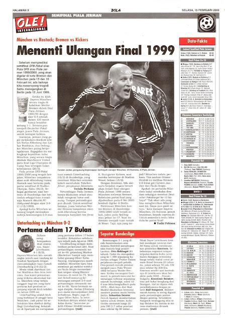MENANTI ULANGAN FINAL 1999
