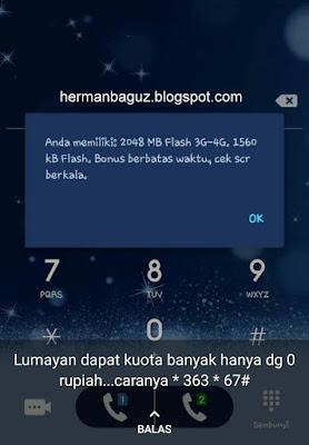 Trick Paket Internet Telkomsel terbaru Rp 0 dan 1000 dapat 2 GB hermanbaguz blogspot