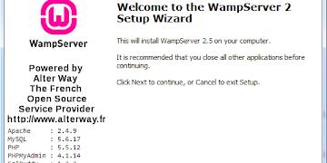 Como Instalar WampServer 2.5 en Windows 7