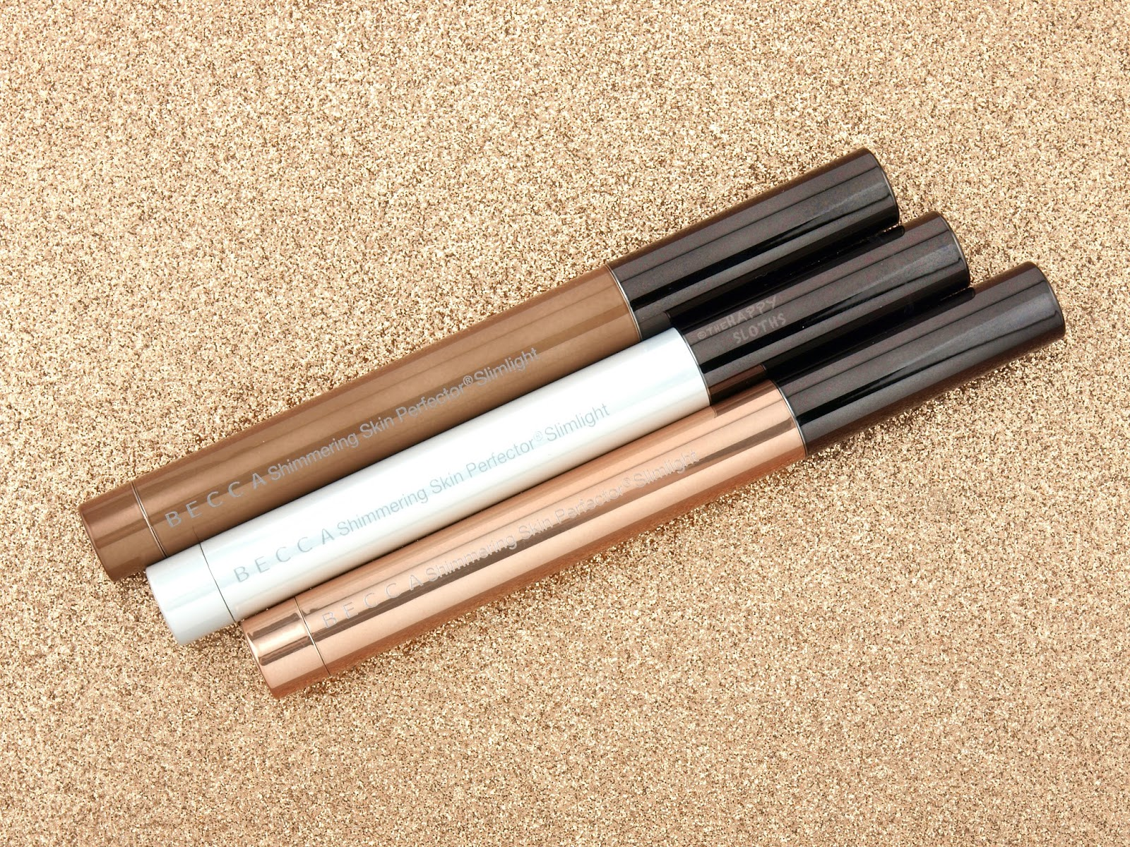 BECCA Shimmering Skin Perfector Slimlight Review and Swatches