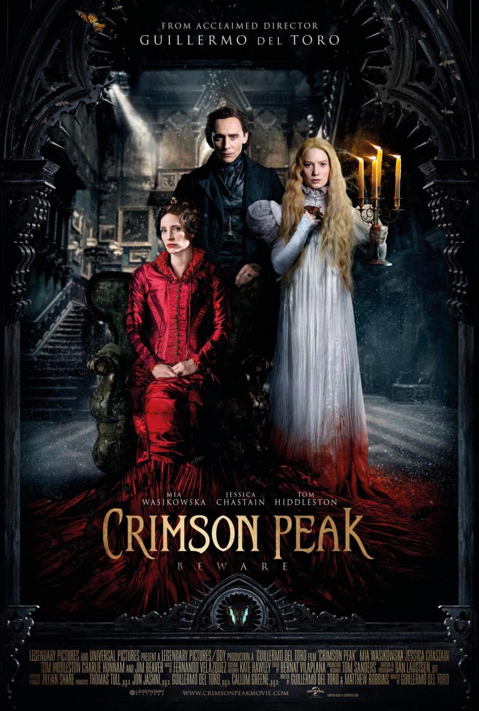 Saiu mais um poster lindão de A Colina Escarlate (Crimson Peak)